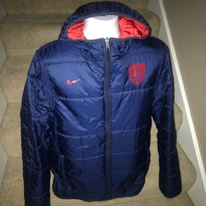 Nike *US Soccer* reversible insulated jacket - L